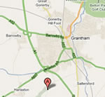 Google Map to Tudor Lodge Bed and Breakfast Harlaxton